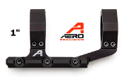 "APRA210400 Aero Precision Ultralight 1"" Scope Mount - Anodized Black"
