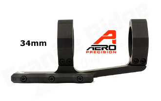 APRA211311 - Aero Precision Ultralight 34mm Scope Mount - SPR - Black
