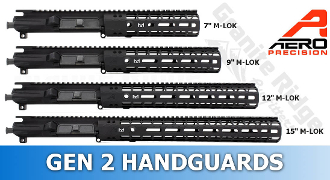 APPG110001 Aero Precision M4E1 Enhanced Upper/Handguard Combo - GEN 2 M-LOK