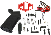 Elftmann Tactical MOE AR-15 Lower Parts Kit - Various Styles - ELF Match Trigger - ELF 3 Gun trigger - ELF Service Trigger - ELF AR10 308 trigger