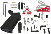 RISE RA-535 APT trigger - MOE AR-15 Lower Parts Kit - 3.5lb - Various Colors - RISE Armament - Enhanced drop in trigger