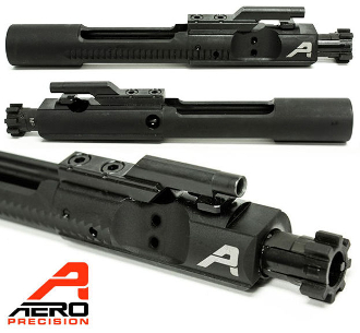 APRH100019C - APRH100019 - Aero Precision HPT/MPI Bolt Carrier Group 5.56 - with Logo