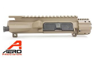 APAR600202A - APAR600202AC - Aero Precision AR15 M4E1 Enhanced Upper Receiver - FDE Cerakote