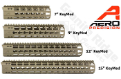 APPG100001 - FDE Aero Precision AR15 Enhanced KEYMOD Handguards FDE Cerakote