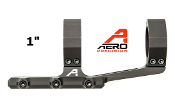 "APRA210700 Aero Precision Ultralight 1"" Scope Mount, SPR - Anodized Black"