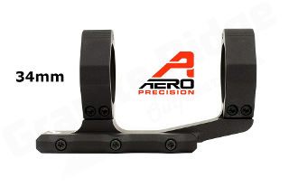 APRA211211 - Aero Precision Ultralight 34mm Scope Mount - Extended - Black