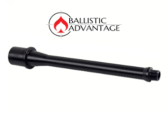 "BABL9MM007M - Ballistic Advantage 8.3"" 9MM AR15 Barrel (1/2x36 Threads)"