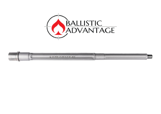 "BABL223017PL - Ballistic Advantage 16"" .223 Wylde SPR Fluted Stainless Steel Midlength AR 15 Barrel, Premium Series"