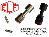 SAFETY-640522126958 - ELF AR-15 / AR-10 Ambidextrous Speed Safety - Black or SS