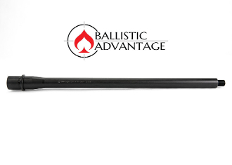 "BABL9MM011M - Ballistic Advantage 16"" 9MM Straight Profile AR15 Barrel"