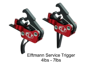 ELF Service Trigger - Curved or Straight 4-7lbs Drop In - Elftmann Tactical Service-736902490068 - Service-736902490044