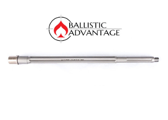 "BABL65G003PL - Ballistic Advantage 18"" 6.5 Grendel SPR Fluted Stainless Steel Rifle Length AR 15 Barrel, Premium Series"