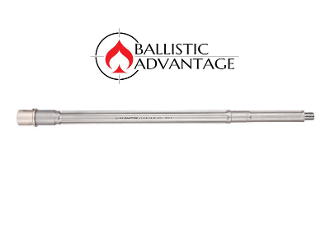 "BABL224V04PL - Ballistic Advantage 18"" .224 Valkyrie SPR Fluted Stainless Steel Rifle Length AR 15 Barrel, Premium Series"