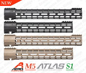 APPG538104 - Aero Precision M5 ATLAS S-ONE M-LOK Handguards