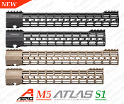 APPG538004 - Aero Precision M5 ATLAS S-ONE KEYMOD Handguards
