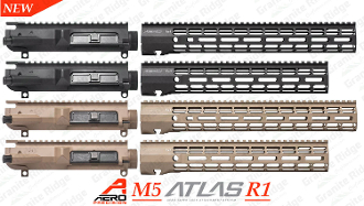 Aero Precision M5 Upper / ATLAS R-ONE M-LOK Combo Set