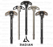 Radian Raptor Ambidextrous Charging Handle AR10/SR25 - Multiple Colors - R0007 - R0008 - R0009 - R0010 - R0256 - R0011 - 817093020484 - 817093020569 - 817093020576 - 817093020583 - 817093021979 - 817093020590 - R0379 - R0564