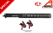 "M4E1 Enhanced Upper/Handguard 15"" MLOK Combo + ELF Match Trigger"